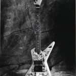 1987: Custom Built Custom Guitar with comic finish