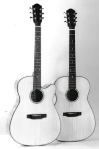 "1989: The first Steelstrings with the typical ""Stoll"" shape"