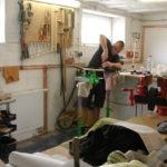 2008 Repairshop: Here we do the final setup and guitar repairs