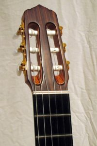 2008: Classic Line I The extra wide neck needs a different headstock