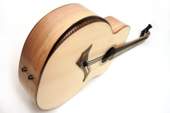 8 string 5 steel 3 bass fanned frets bevel local woods