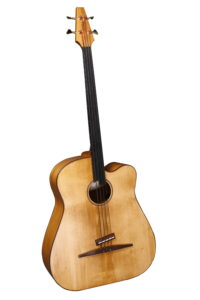 fretless large acoustic bass luthier christian stoll
