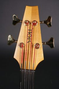 Head fretless large acoustic bass luthier christian stoll