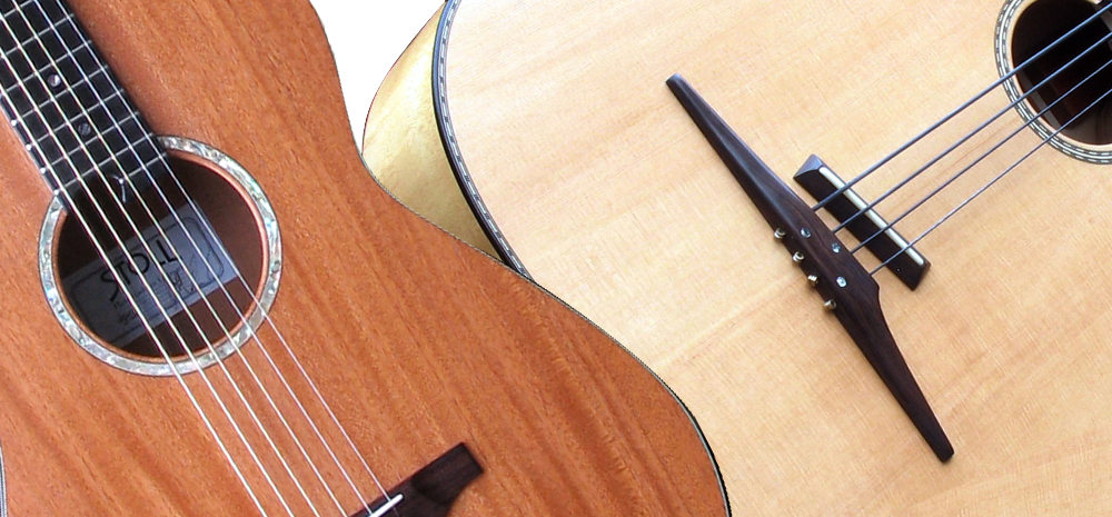 Fingerstyle Mahohany, tailpiece Legendary Acoustic Bass