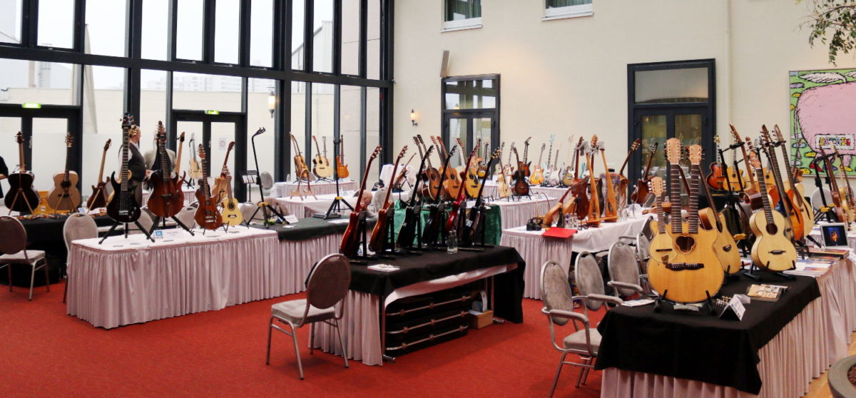 Christian Stoll Exhibitor at Holy Grail Guitar Show
