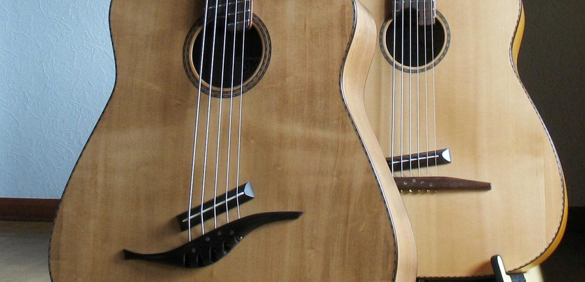 IQ Bass 5-string walnut / maple antique