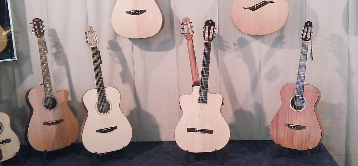 Frankfurt Musikmesse 2014 booth Stoll Guitars