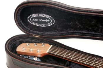 hard case pocket travel guitar artur benedykt