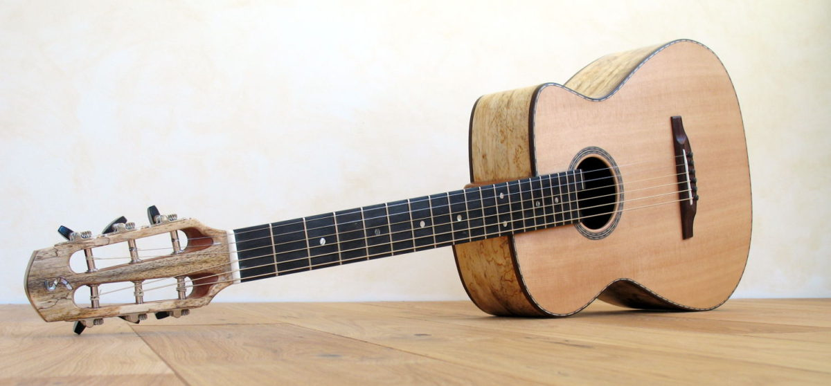 Steelstring Parlour Guitar proCut Cutaway Double Sides