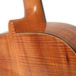 Koa acoustic steel string guitar s-custom luthier Christian stoll