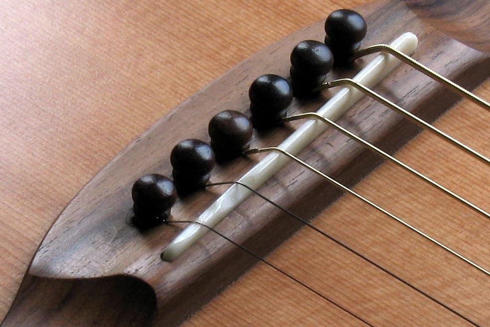 Bridge Saddle And Nut Bone Or Plastic Stoll Guitars