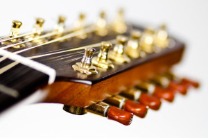 12 - String Guitar Mini Tuners