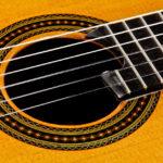 classical soloist guitar Custom luthier stoll rosette