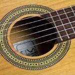 Stoll Primera Classical Guitar - Rosette
