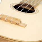 Tenor Ukulele Black Locust Spruce local wood by luthier christian stoll