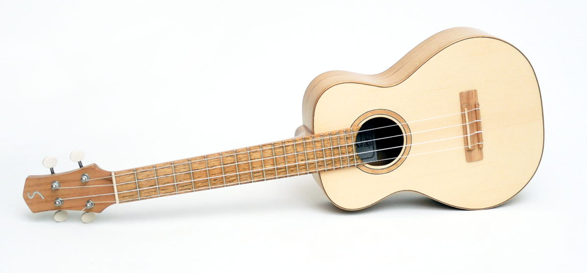 Review Luthier Ukulele Local Woods Black Locust