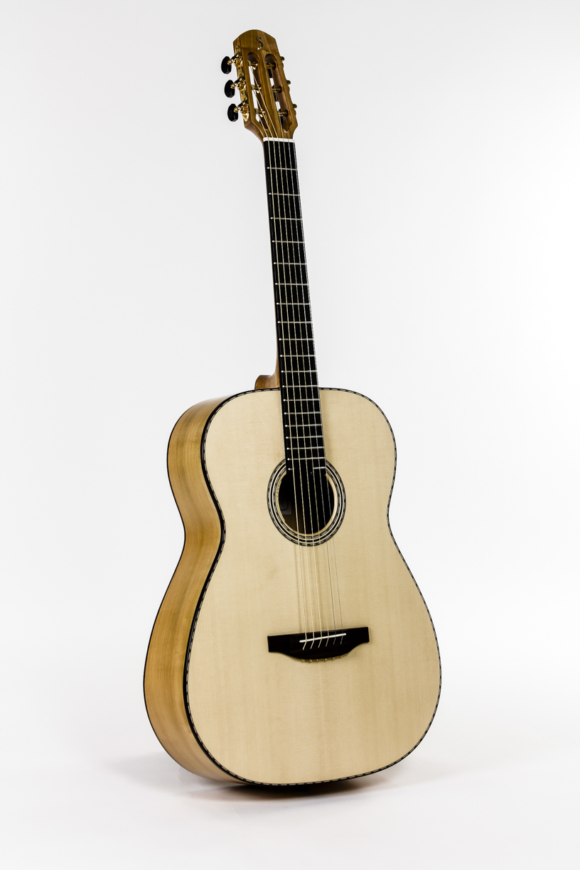 wild cherry 12 fret fingerstyle guitar handmade stoll guitars. Black Bedroom Furniture Sets. Home Design Ideas