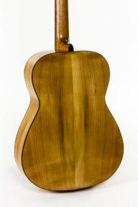 wild cherry 12 fret fingerstyle steel string guitar luthier