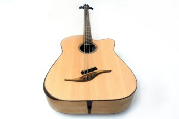 acoustic bass bevel fan frets no rosewood luthier christian stoll