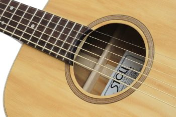 baritone steel string low budget all solid guitar