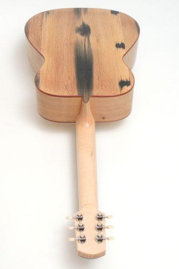 Steel String Guitar Cider Barrel Oak Spruce fingerstyle