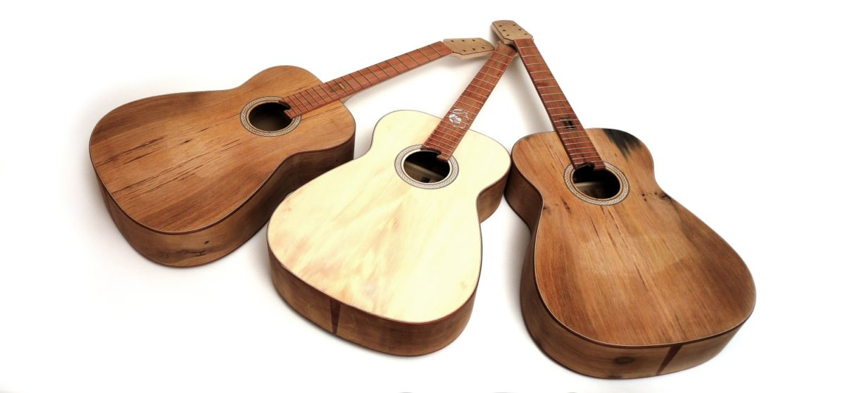 guitars made from cider barrel fingerstyle 630 mm oak luthier