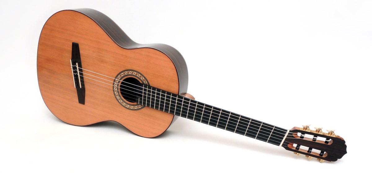 classical fanned fret soloist guitar multi scale cedar luthier stoll