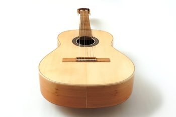 guitar local woods Cherry alder black locust spruce classical Estudio stoll luthier