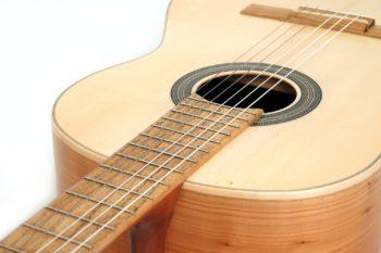 guitar local woods Cherry alder black locust spruce classical Estudio stoll luthier