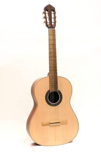 classical guitar local woods pear alder black locust Estudio stoll