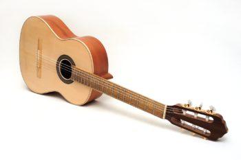 classical guitar local woods pear alder black locust Estudio stoll