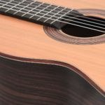 classical student guitar rosewood cedar luthier stoll