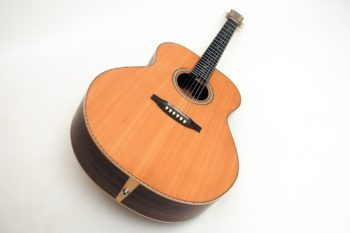steel string guitar Ambition Jumbo Lefthanded Second Hand