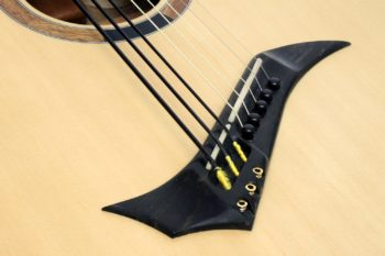 Hybrid 8 string acoustic guitar 3 bass 5 steel mint for sale