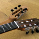 Double Neck Reversible Guitar Steel String Classical Side Soundhole Pickup