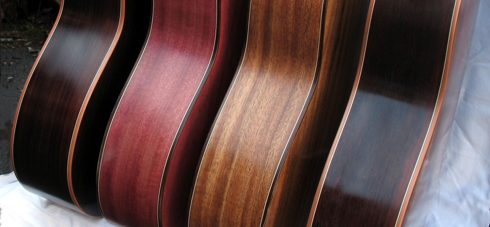 Classical Guitars Indian Rosewood Violet Wood Indian Walnut Burmese Rosewood