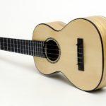 soloist concert ukulele professional black locust luthier