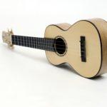 walnut spruce soloist concert ukulele professional luthier