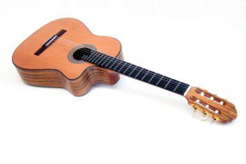 Classical Guitar Cutaway indian walnut cedar