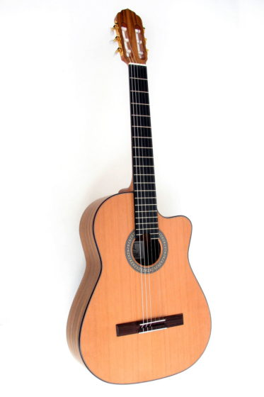 Classical Guitar Cutaway indian walnut cedar