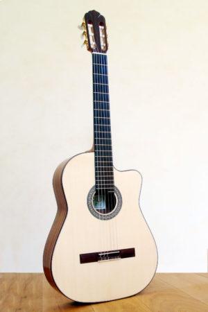 Nylon String Guitar Cutaway Modern Styles Indian Walnut