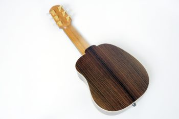 classic Octave Travel Guitar rosewood spruce side sound port
