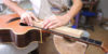 Photo Story: Refretting of an Acoustic Guitar