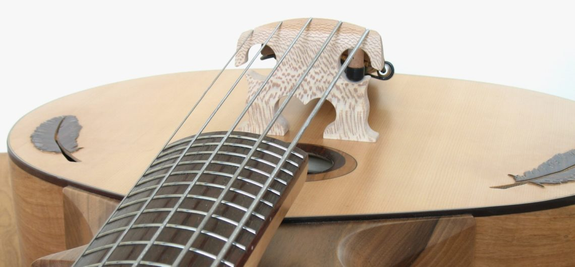 bowable acoustic bass handmade luthier christian stoll