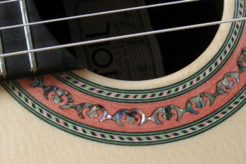 Small Nylon String Classic Guitar small hands Cutaway