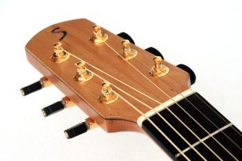 moa austalian teak mangium steel string acoustic guitar luthier christian stoll