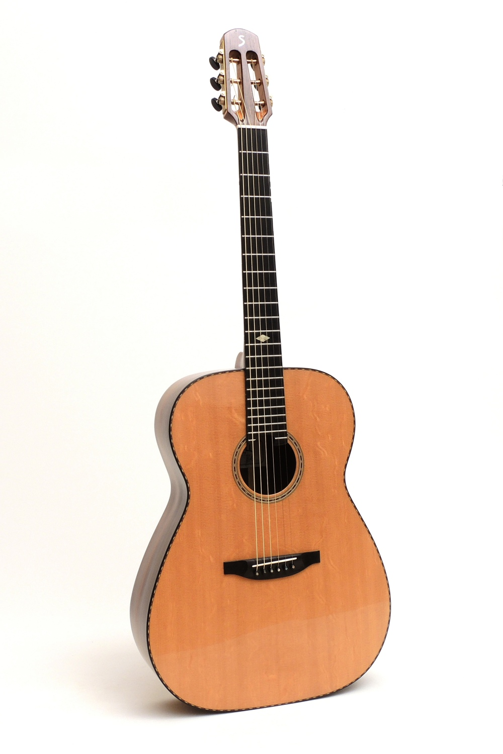 madagascar rosewood acoustic steel string guitar s-custom luthier Christian stoll