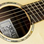 Jumbo Steel string fanned frets bevel side soundhole