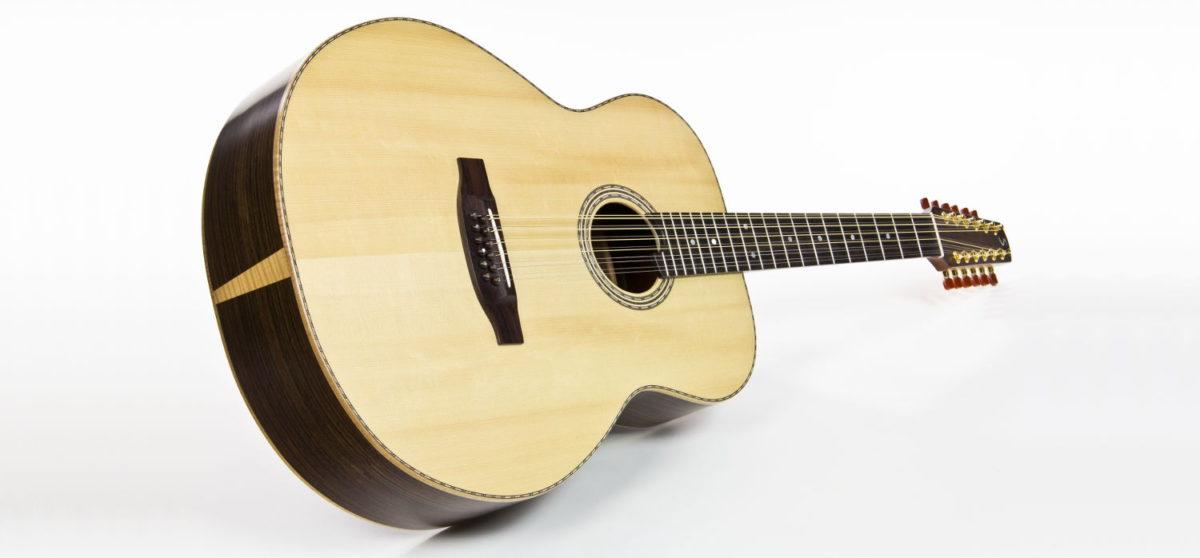 steel string guitar jumbo body 12-string