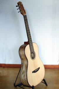 Steelstring Guitar Ambition Parlor Mango
